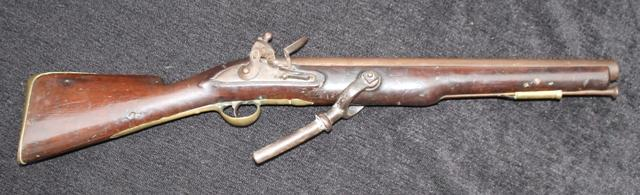 British Naval Flintlock Swivel Gun By Barnett