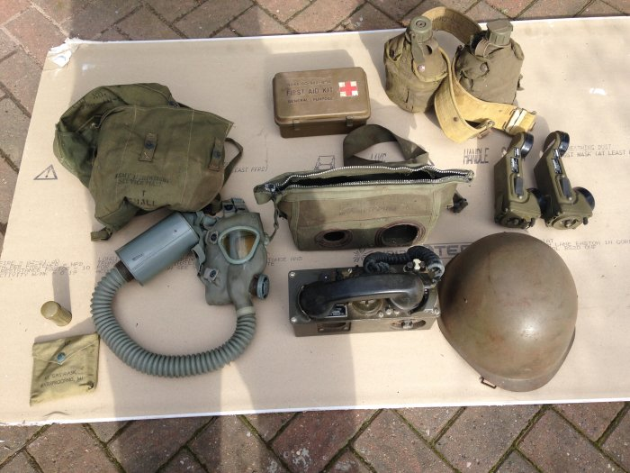 Some military items for sale