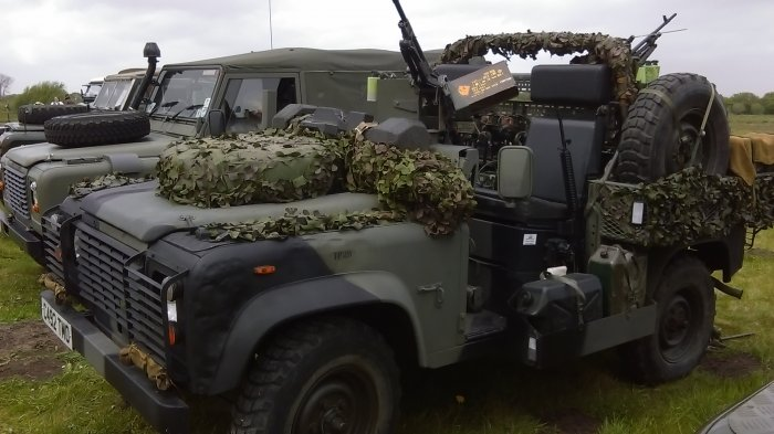 Para Recce Vehicle (Pathfinder 90)