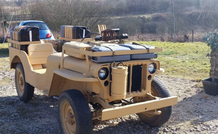 Wartime SAS/LRDG Jeep