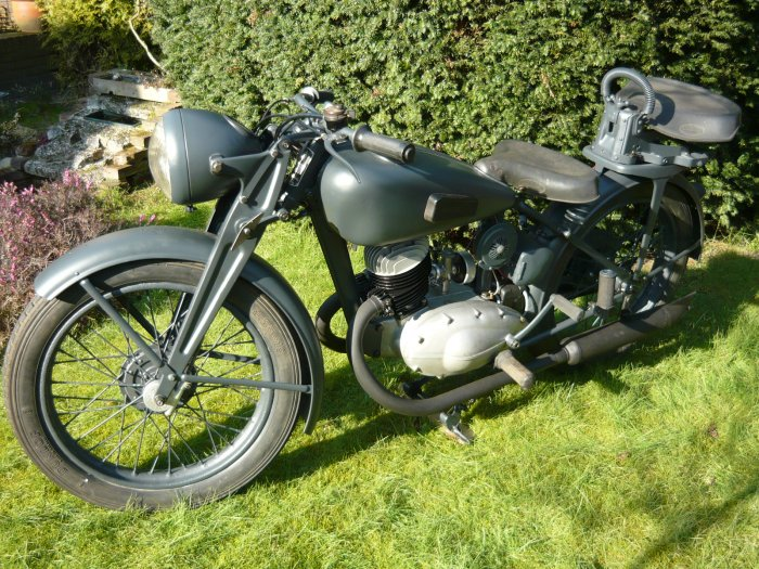 Victoria KR20 German motorcycle 1937