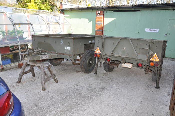 2 Sankey Trailers for Sale