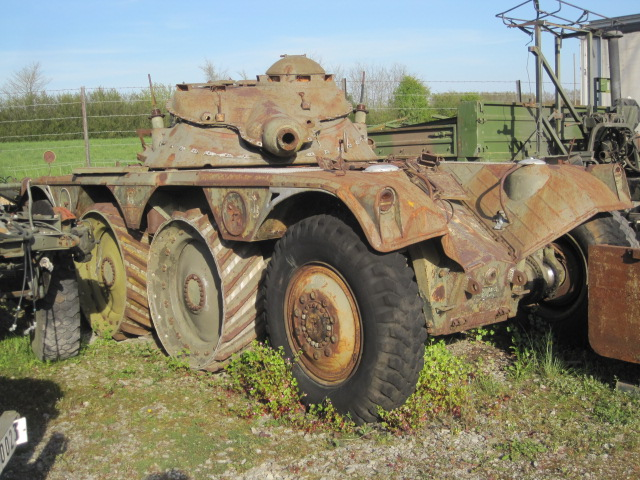 EBR Panhard Armored car 8x8
