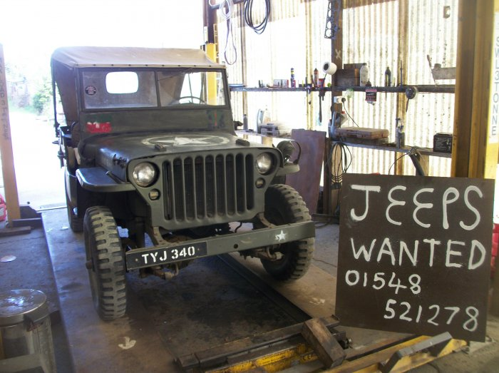 Willys MB Jeep 1945