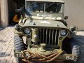 Jeep Willys MB 1944 6V with jeep trailer