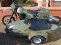 Harley Davidson MT500e with lightweight sidecar