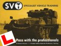 H Licence Tracked Vehicle Instruction and Training