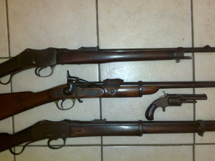 Deactivated and Obsolete Calibre Guns