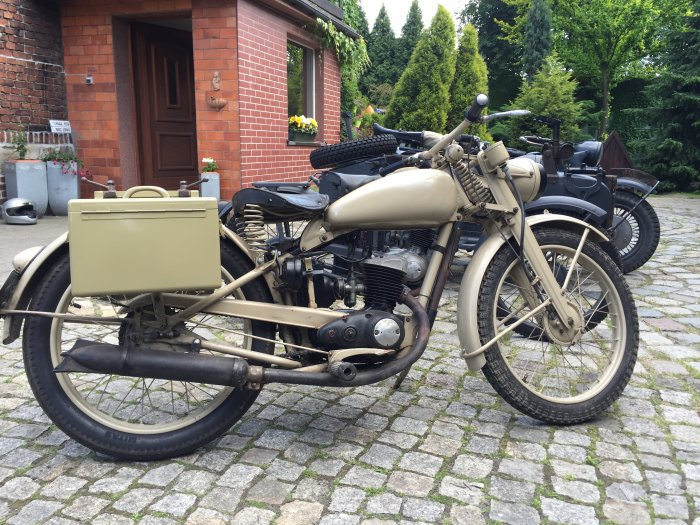DKW RT 125-1 WH, 1944 fully restored and working