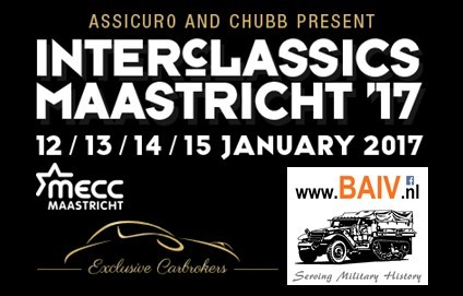BAIV at Inter Classics in Maastricht from January 12th till 15th 2017