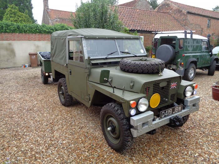 Land Rover For Sale >> For sale Land Rover Lightweight - Land Rovers - MILWEB CLASSIFIEDS