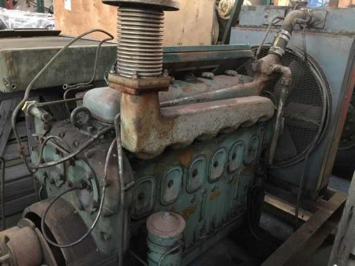 Engine GM 6.71 for tank destroyer M10
