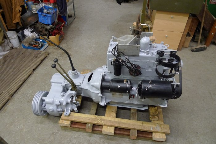 Complete Ford GPW Engine And Transmission