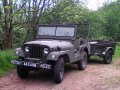 Willys Jeep M38A1 1954 with trailer