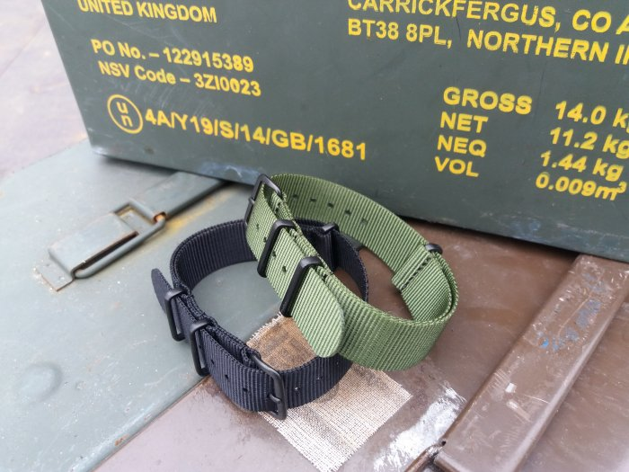 Military Grade 18mm Army Watch Strap