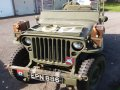 GPW 1943 Jeep and Trailer