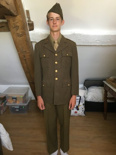 American and British Uniforms