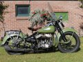Beautiful Harley Davidson WLC750 1942 with perfect number