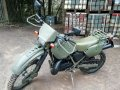 Ex French Army 1994 Cagiva 125cc Motorcross MX Military Motorbike Trials Bike