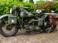 Harley Davidson WLA 750cc 1942 very orginal example