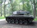 Tank combat USA M41 Walker Bulldog,successor of M24 Chaffee WW2