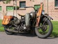 Harley Davidson WLA 750cc 1942 with orginal Dutch registration