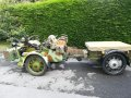 Ural 750cc Motorbike Sidecar and Trailer