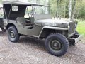 1942 Ford GPW Jeep and Trailer
