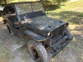 Ford GPW 1942 For Restoration