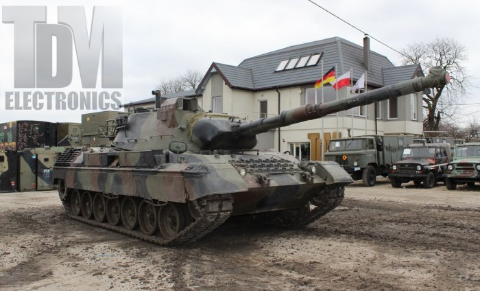 Leopard 1A5 Tank for Monument