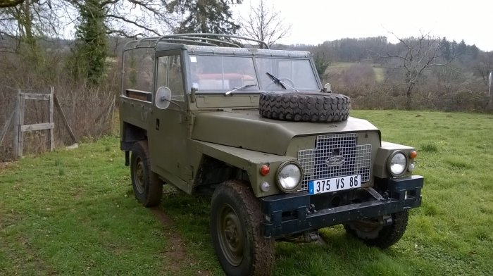LHD French registered Land Rover Lightweight 1972