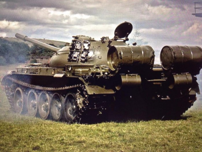 T54 Russian model Czech Built