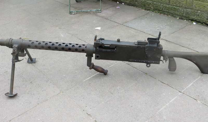 Stock firing handle top cover carry handle barrel jacket bipod and
