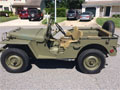 Fully restored 1941 Willys MA Prototype Jeep