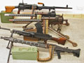 Deactivated machine gun collection