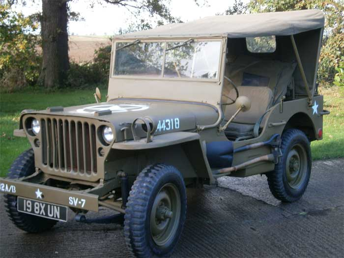 1944 Ford Jeep Military Jeeps Willys Ford And