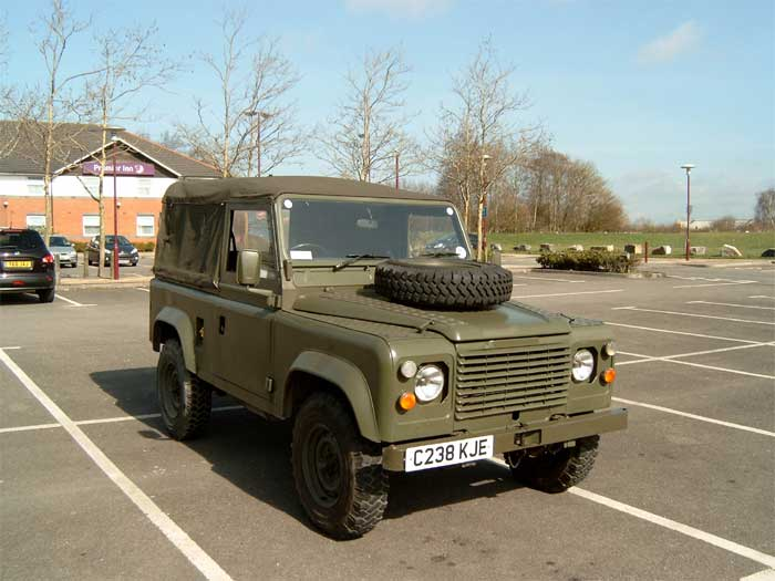 1986 Land Rover Defender 90 Land Rovers Milweb Classifieds