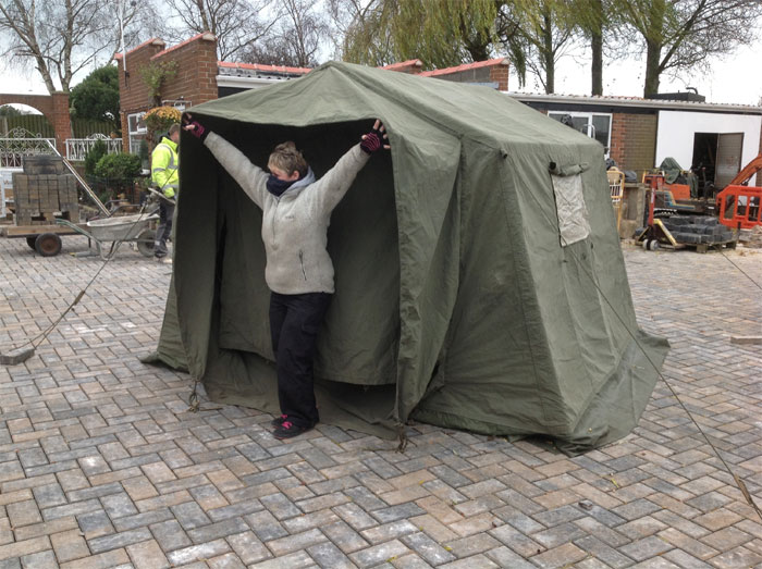 9 x 9 Land Rover Tents