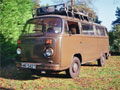 Rare VW T2 German Military Radio Van / Campervan