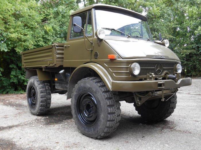 Mercedes benz unimog 406 medium military vehicles for Mercedes benz military vehicles