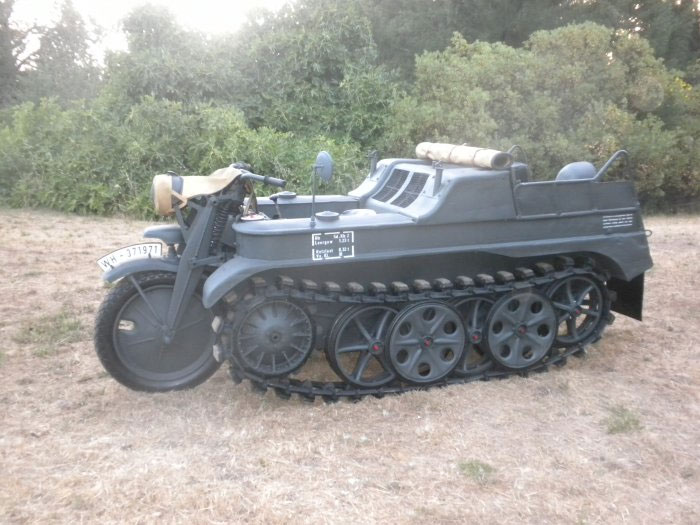 Armored Vehicles For Sale >> 1942 NSU Kettenkrad - Armour and Tracked Military Vehicles ...