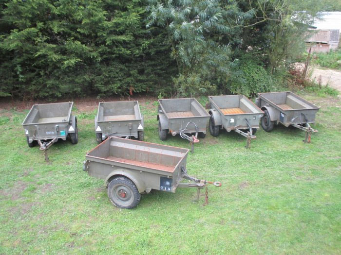 Army Jeep Trailer Willys Bantam Trailers And Towed