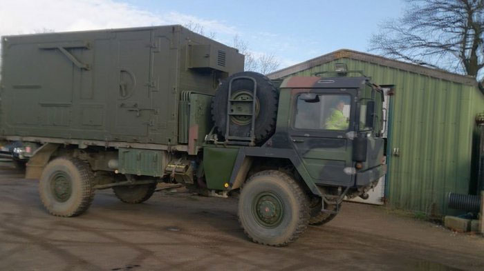man kat 1 camper heavy military vehicles milweb. Black Bedroom Furniture Sets. Home Design Ideas