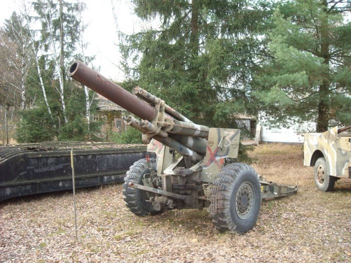 Field Howitzer 155mm, US Army 1944