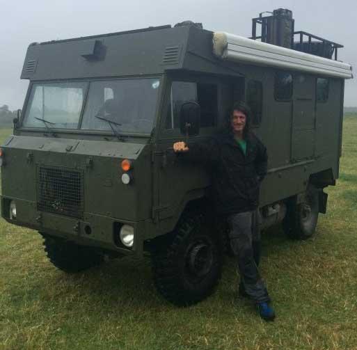 Land Rover 101 Ambulance