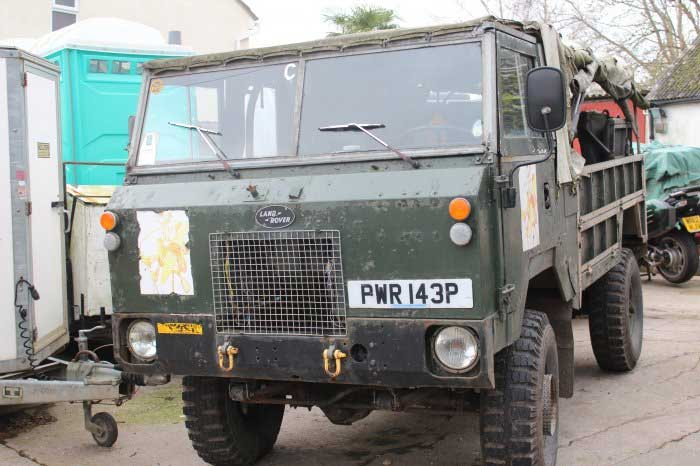 101 FC GS Land Rover