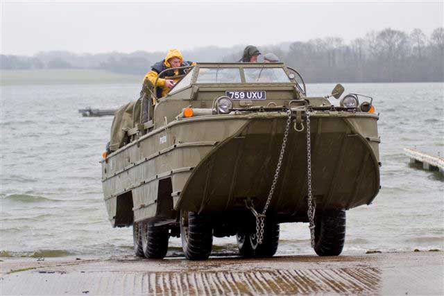 Amphibious Military Vehicle For Sale >> DUKW Amphibious Military Vehicle