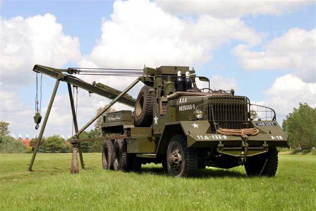 War La France M1a1 Heavy Wrecker
