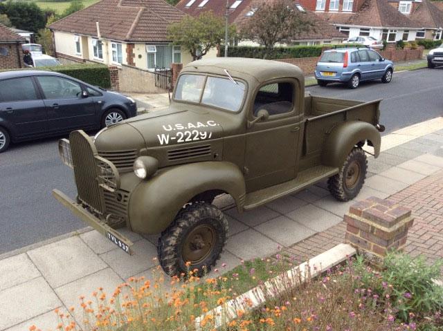 Jeep Truck >> Dodge VC 3 1940