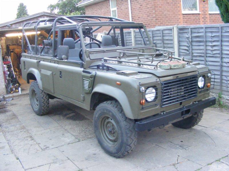 Land Rover 110 Wolf Remus